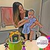Bolo Neon para mesversário da filha da Paloma Tocci. Feito por Cake Studio ( contato@cakestudio.com.br | Whatsapp: (11) 96882-2623 )