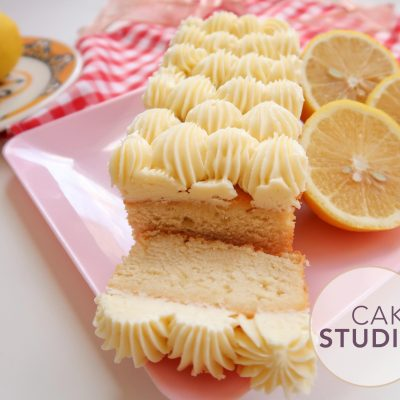 Cake Studio Delivery de Bolo Caseirinho em São Paulo: bolo de limão siciliano com cream cheese. Foto: Clara Fagundes.