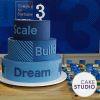 Festa de aniversário do Google. Bolo feito por Cake Studio ( contato@cakestudio.com.br | Whatsapp: (11) 96882-2623 ).